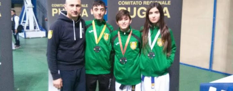Asd Taekwondo Avellino, tris di medaglie a Bari