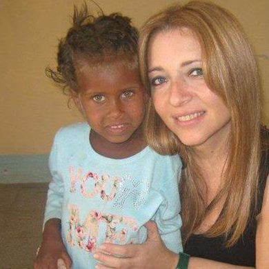 laura Rocco in Eritrea