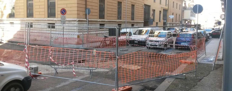 FOTO/ Lavori a Corso Europa: i chiarimenti dell'assessore Costantino Preziosi