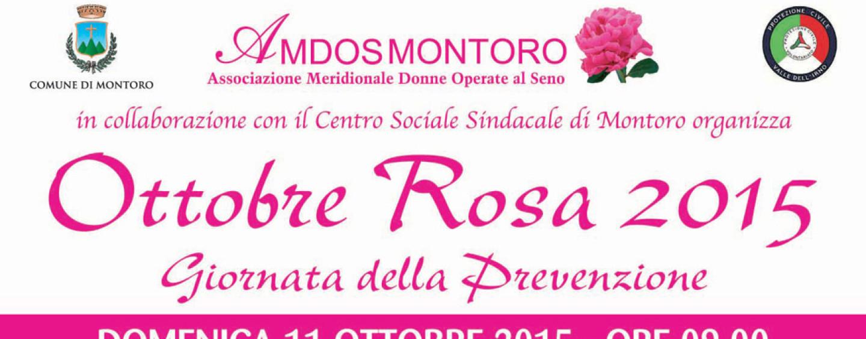 Prevenzione, Amdos: a Montoro è di scena Ottobre Rosa