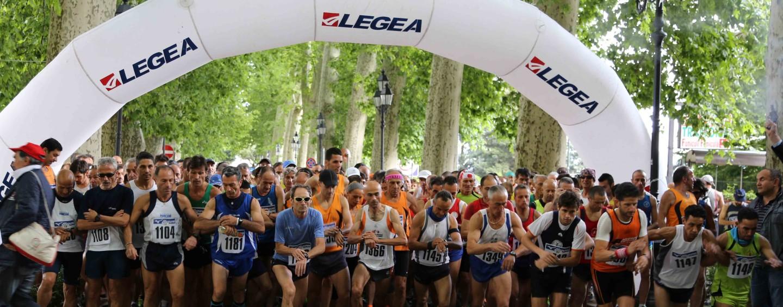Seicento atleti per la marcialonga in salita Mercogliano-Montervergine