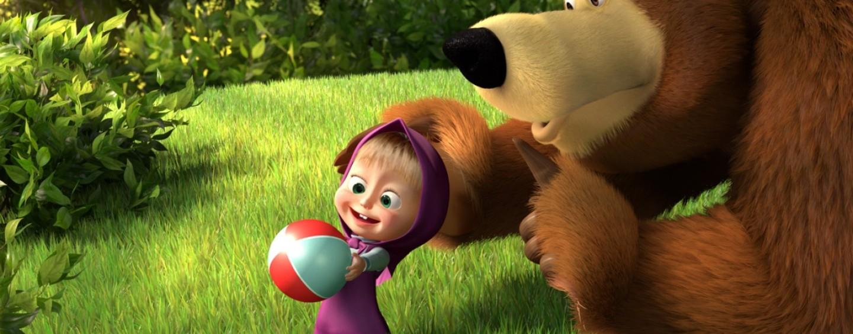 """Fenomeno """"masha e orso a febbraio gli inediti episodi in"""