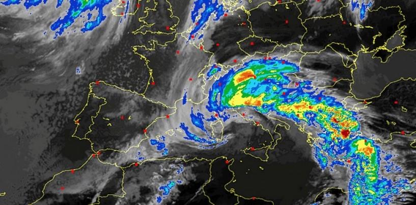 Bufera di vento e Pioggia in Irpinia: ecco il meteo fino a venerdì.