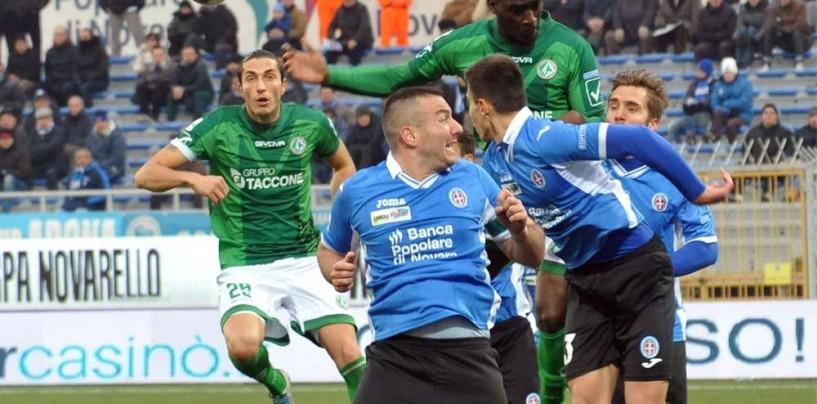"""Novara – Avellino, il fotoracconto: rivivi il match del """"Silvio Piola"""""""