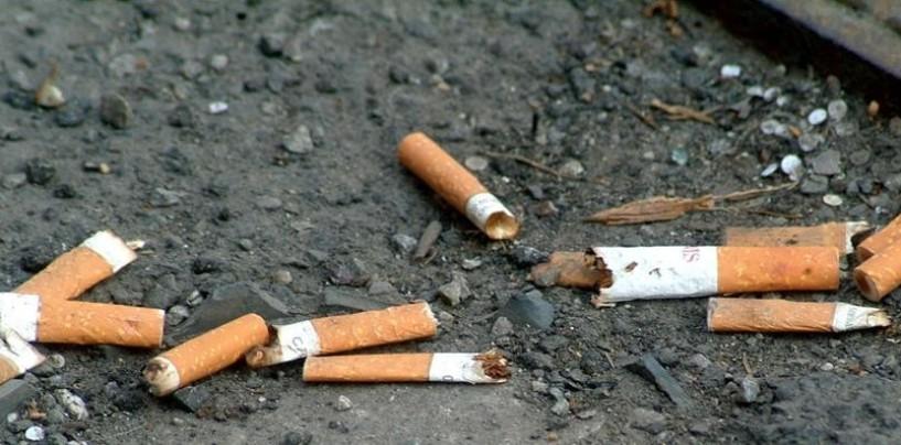 Green Economy: multe in arrivo per mozziconi di sigaretta buttati in strada e non solo