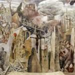 Murale della Pace, Ettore De Conciliis - Chiesa San Francesco d'Assisi