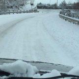 VIDEO/ Arriva la neve: primi fiocchi in Alta Irpinia