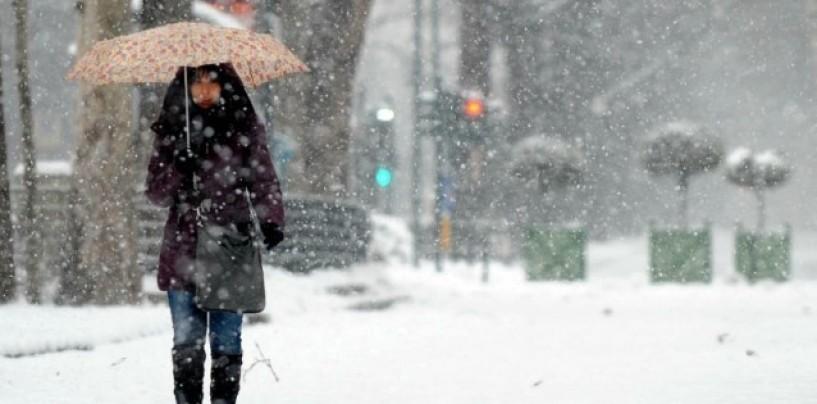 Neve in Alta Irpinia, domani scuole chiuse ad Ariano
