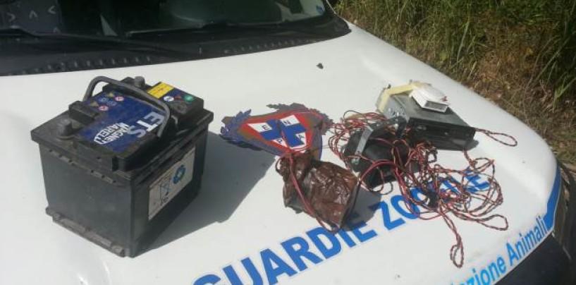 Strumenti di caccia vietati, operazione dell'Enpa a Frigento e Grottaminarda