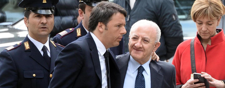 Renzi e De Vincenti a Napoli per firmare il Patto per la Campania