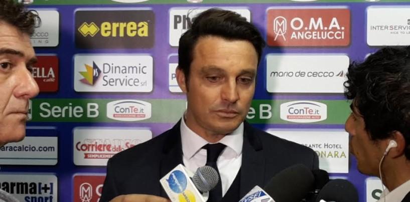 """Pescara, Oddo lancia l'allarme: """"Siamo in emergenza, devo inventarmi la formazione"""""""