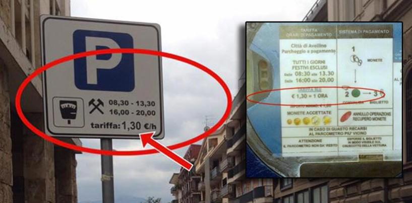Ticket parcheggi più caro, per gli avellinesi una vera e propria tassa. Petizione dell'ADOC contro gli aumenti