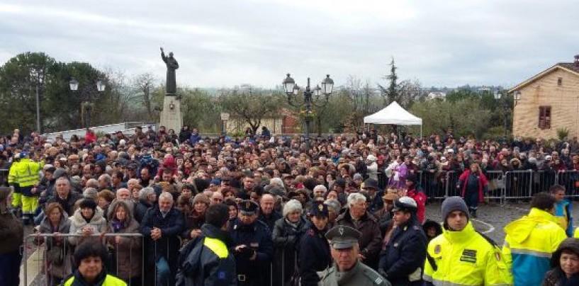 Pietrelcina: in 50mila per Padre Pio, il programma di oggi tra Benevento e S. Giovanni