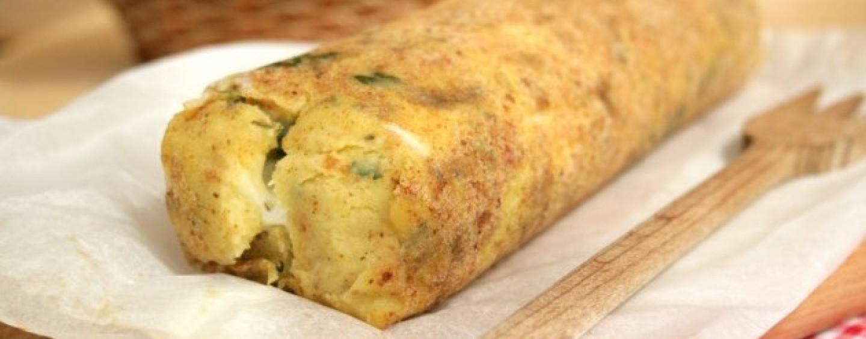 Ricette veloci polpettone di patate con funghi pancetta for Ricette carne veloci