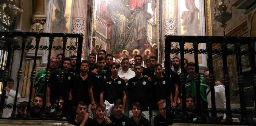 Avellino Calcio – La Primavera a Montevergine per la benedizione precampionato