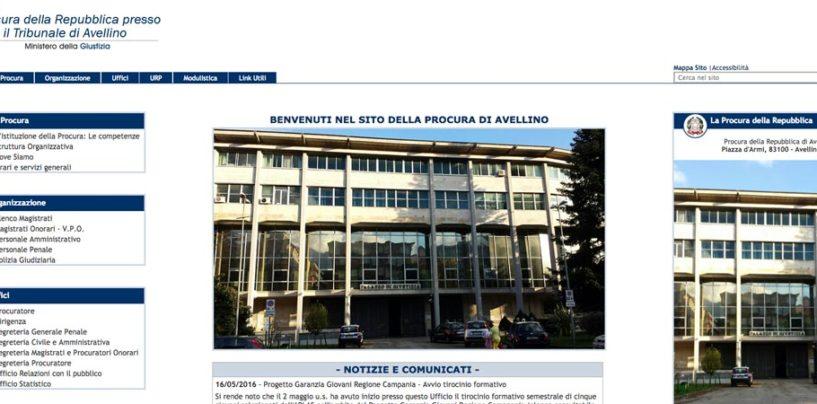 Si rinnova il portale web ufficiale della Procura di Avellino.