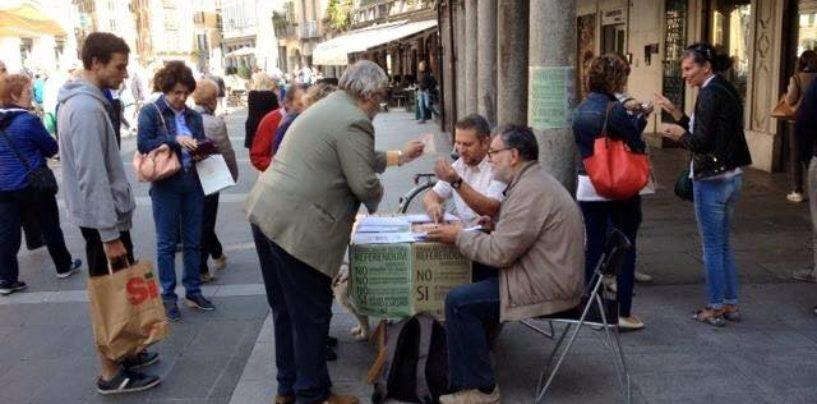 """Sabato raccolta firme contro lo """"stravolgimento della Costituzione"""""""