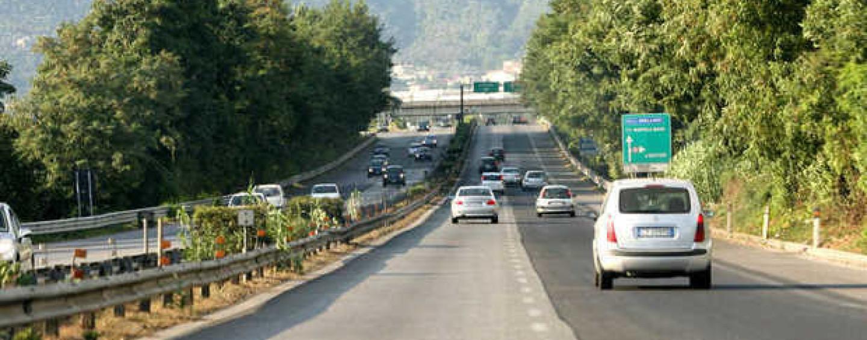Lavori sul Raccordo Salerno Avellino, disagi per gli automobilisti fino al 10 giugno
