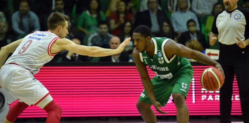 Basket, tripla di Ragland allo scadere: la Sidigas Avellino batte Reggio Emilia e vola in finale