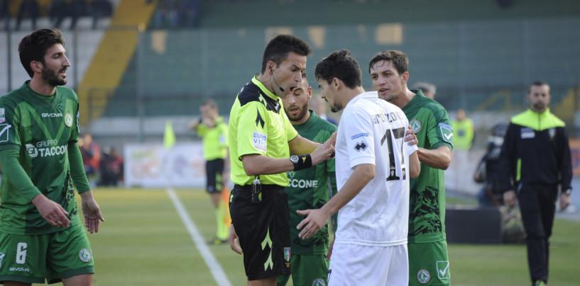 Avellino e Pro Vercelli ritrovano lo stesso arbitro dell'andata