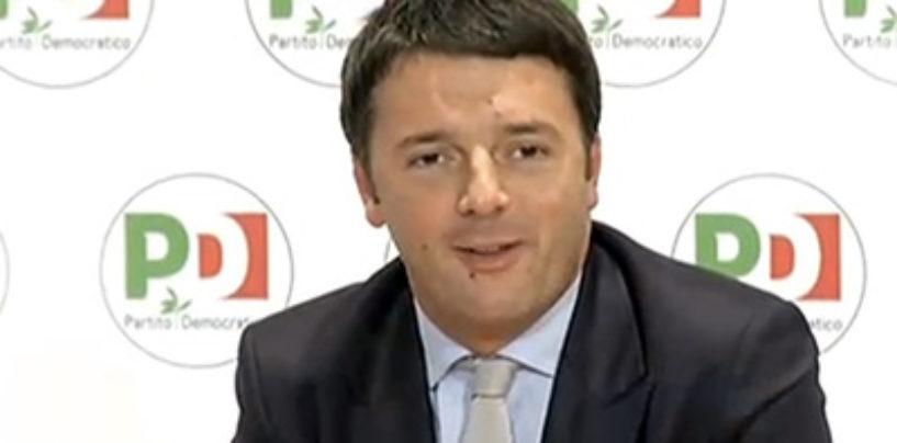 """Renzi e la Paris in conferenza stampa: """"Commissarieremo Napoli"""""""