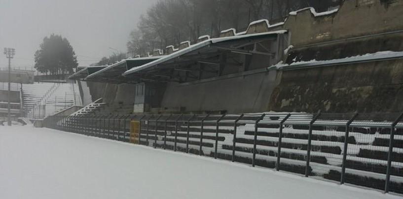 FOTO/ Neve, ancora disagi: salta una gara in Promozione, ecco quale
