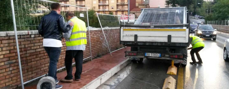 """Chiusura Ponte della Ferriera, il Comune: """"Lavori necessari, abbiate pazienza"""""""