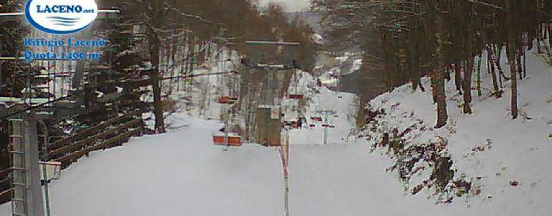 Neve, riaprono le piste al Laceno