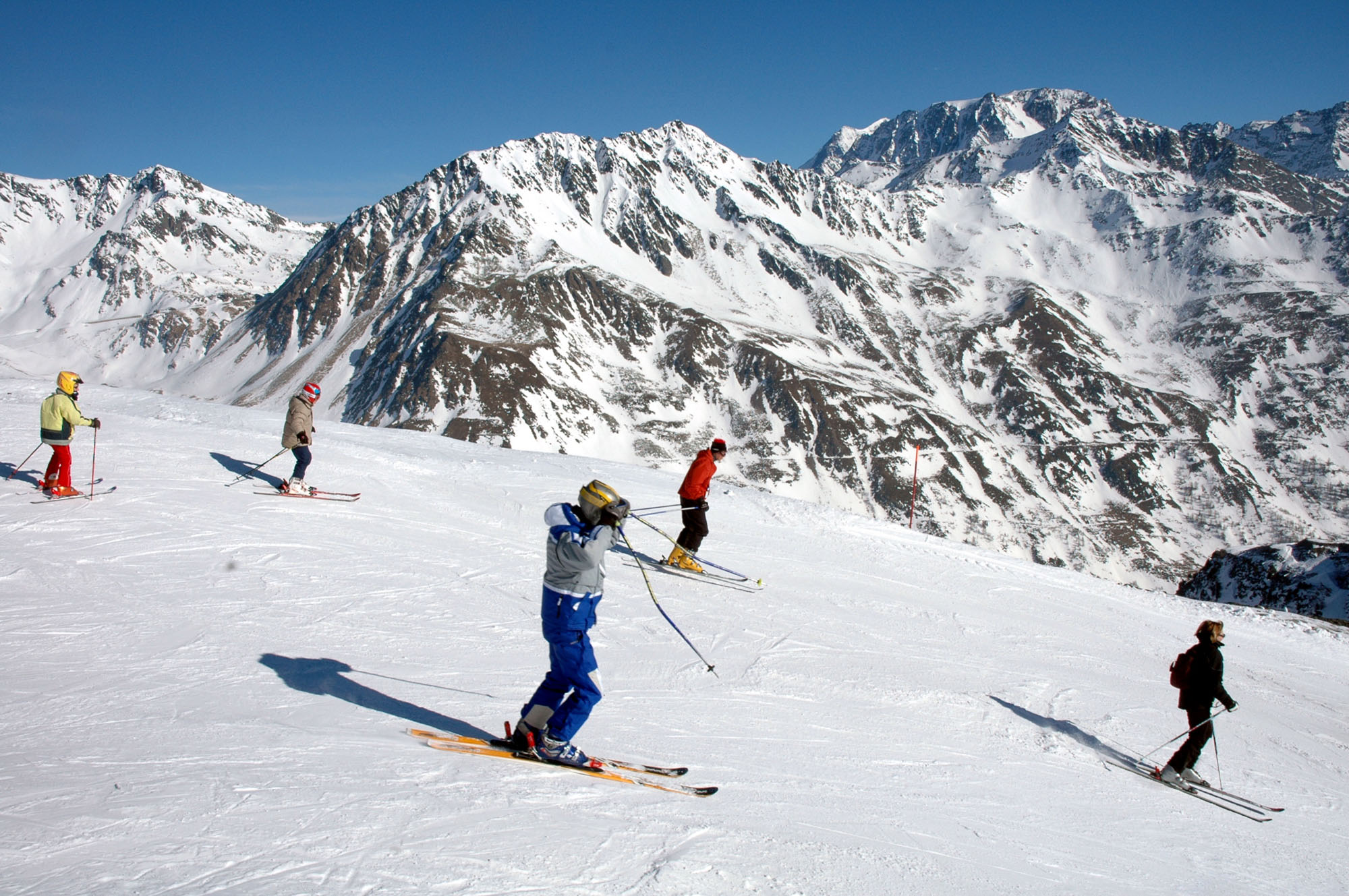 sciare neve