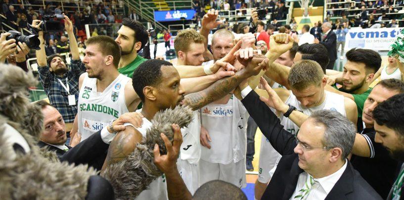 FOTO/ Basket Playoff, rivivi tutte le emozioni di Sidigas Avellino-Pistoia