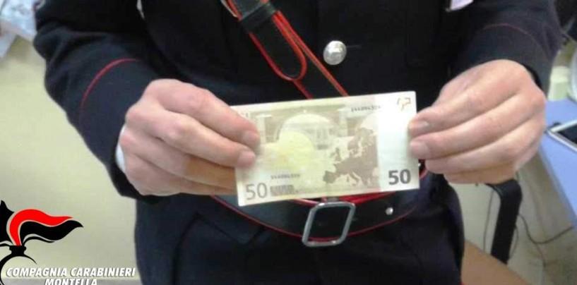 Montella, pregiudicata denunciata per spaccio di banconote false
