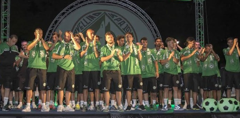 Avellino Calcio – E' tornato il logo U.S. sulla maglia: rivivi il live dell'evento al Campo Coni