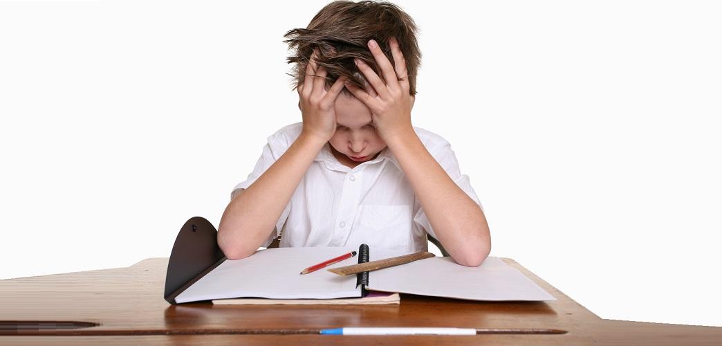 Studente in difficoltà
