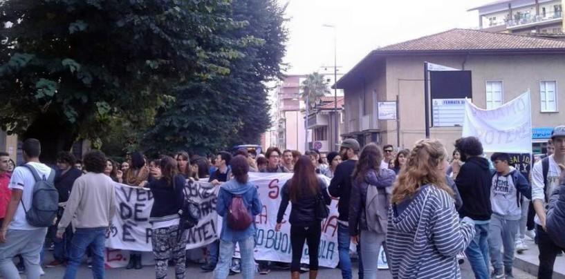 Riprende la marcia per l'ambiente, studenti in piazza