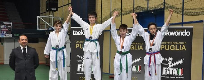 Taekwondo, 9 medaglie agli Interregionali per il team di D'Alessandro