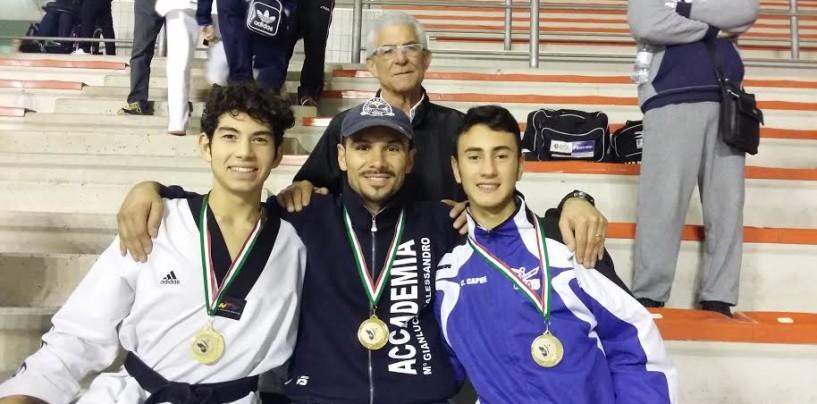 Taekwondo, agli Interregionali di Puglia l'Accademia di D'Alessandro conquista 9 medaglie