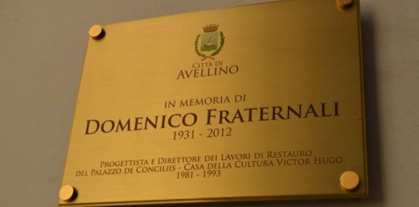 Avellino, nella Casa della Cultura una targa per ricordare l'ing. Domenico Fraternali