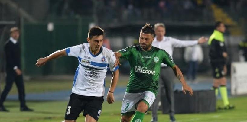 Avellino Calcio – Sconfitto e infuriato con l'arbitro: il Novara è in caduta libera