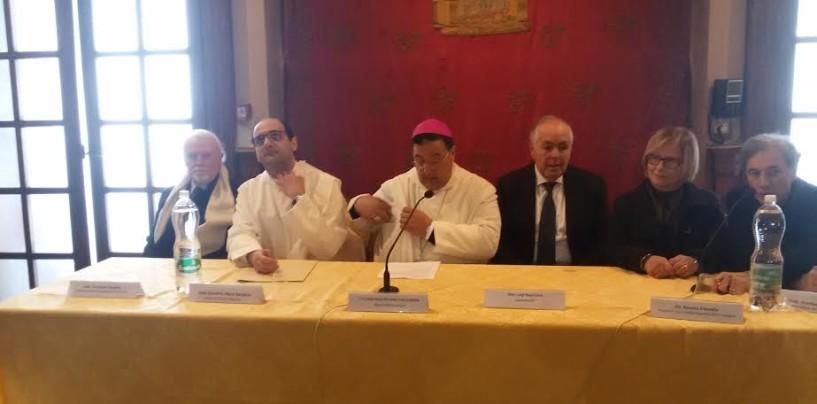 """FOTO/ Mostra dei Presepi del Santuario di Montevergine, Perrotti: """"Fare rete per il turismo religioso"""""""