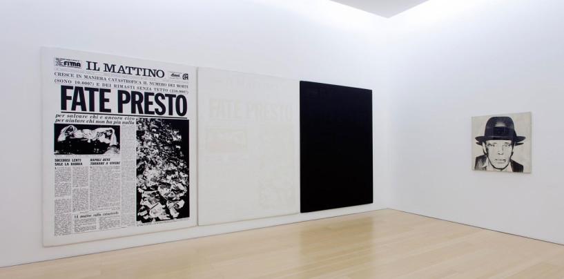 """Il terremoto 1980 raccontato attraverso l'arte con la mostra """"Terrae Motus"""" alla Reggia di Caserta"""