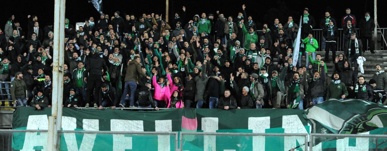 Avellino Calcio – Scatta la prevendita per Ascoli: curva nord ai tifosi biancoverdi