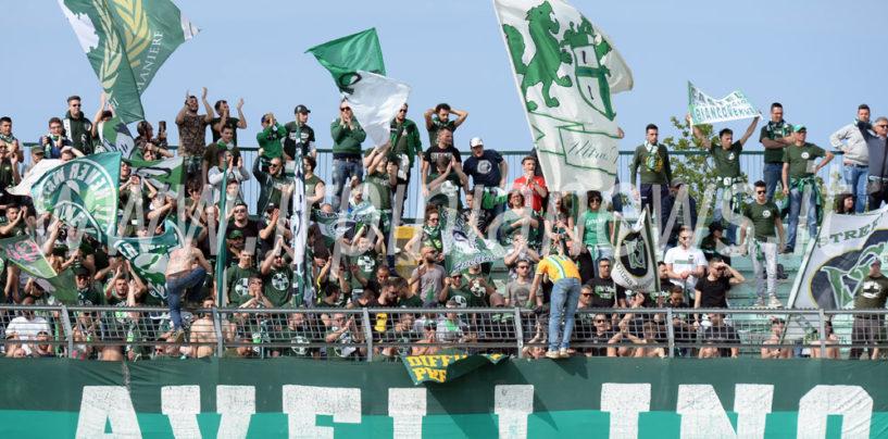 Avellino Calcio – Prevendita settore ospiti: il dato definitivo del botteghino