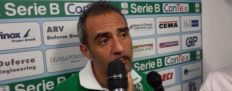 """SALA STAMPA/ Toscano scuote l'Avellino: """"Il pari col Brescia ha esaltato la squadra"""""""
