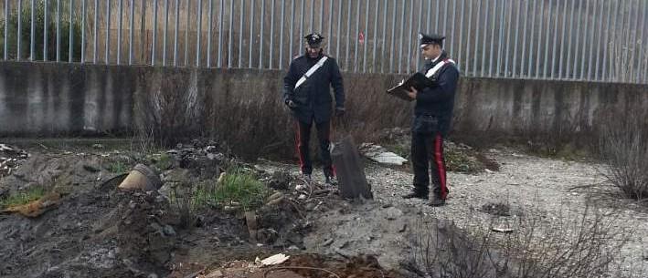 Carabinieri scarico abusivo