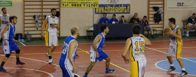 Cab Solofra, debutto vincente nei playoff: battuto lo Sporting Portici