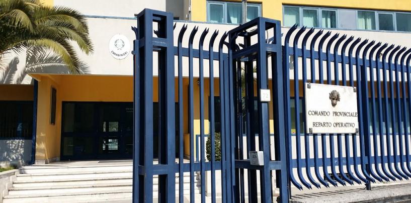 Avellino, furti in cantiere: arrestati tre rumeni