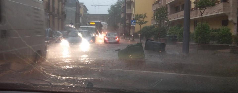 Maltempo, nuovo nubifragio su Avellino: caos e disagi in città