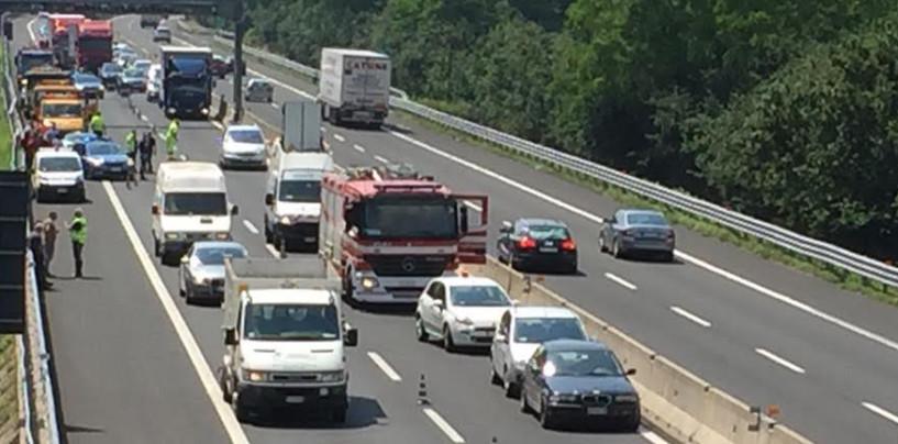 FOTO/ Nuovo incidente mortale sull'A16, deceduto un anziano di Pietrastornina
