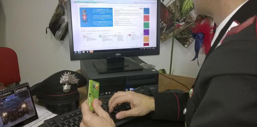 Frodi informatiche: maxi truffa a Montemarano, nei guai quattro pregiudicati
