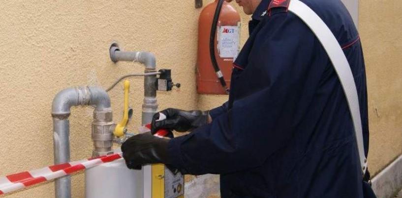 Montella, allacci abusivi al contatore del gas metano: in due nei guai